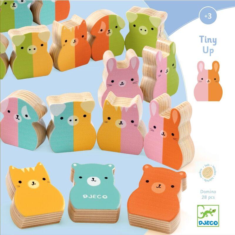Állati dominó - Djeco dominó 3 éves kortól