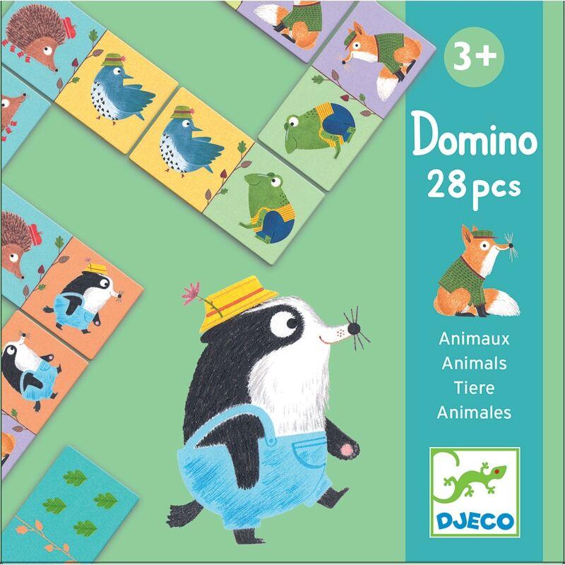 Dominó játék - Állatok, Djeco fejlesztőjáték 3-6 éves korig