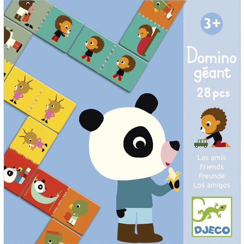 Óriás dominó - Barátok, Djeco társasjáték 3-6 éves korig