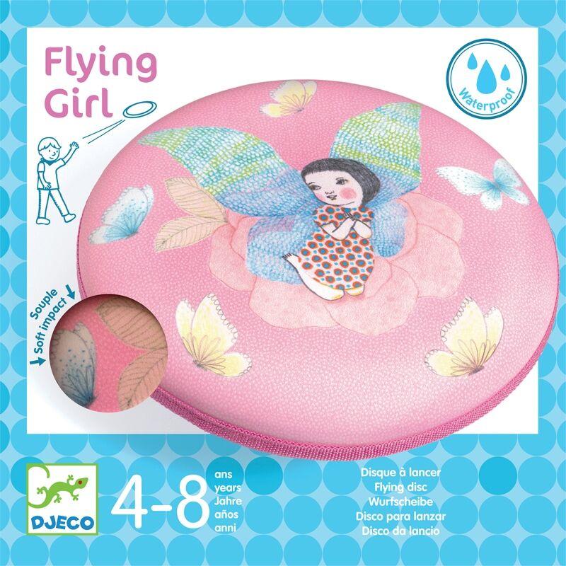 Flying Girl, Djeco rugalmas frizbi, mozgásfejlesztő játék lányoknak