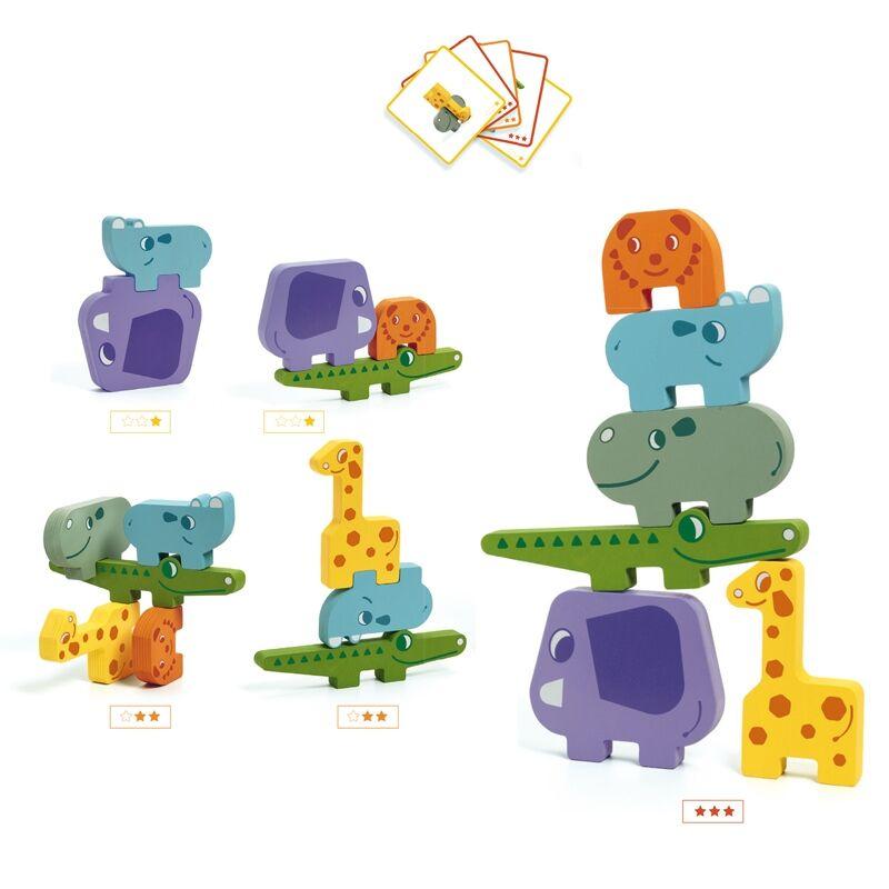 Építőjáték - Tehetős - Djeco építőjáték 3-6 éves korig