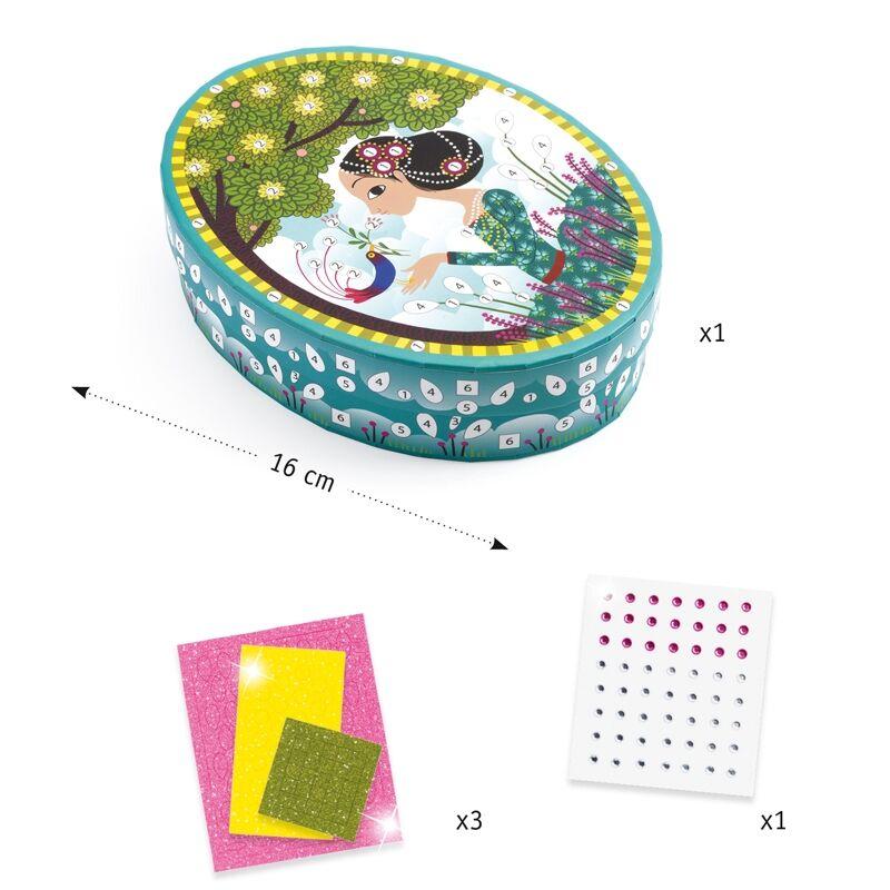 Little Secrets - Djeco kreatív készlet 5-10 éves korig