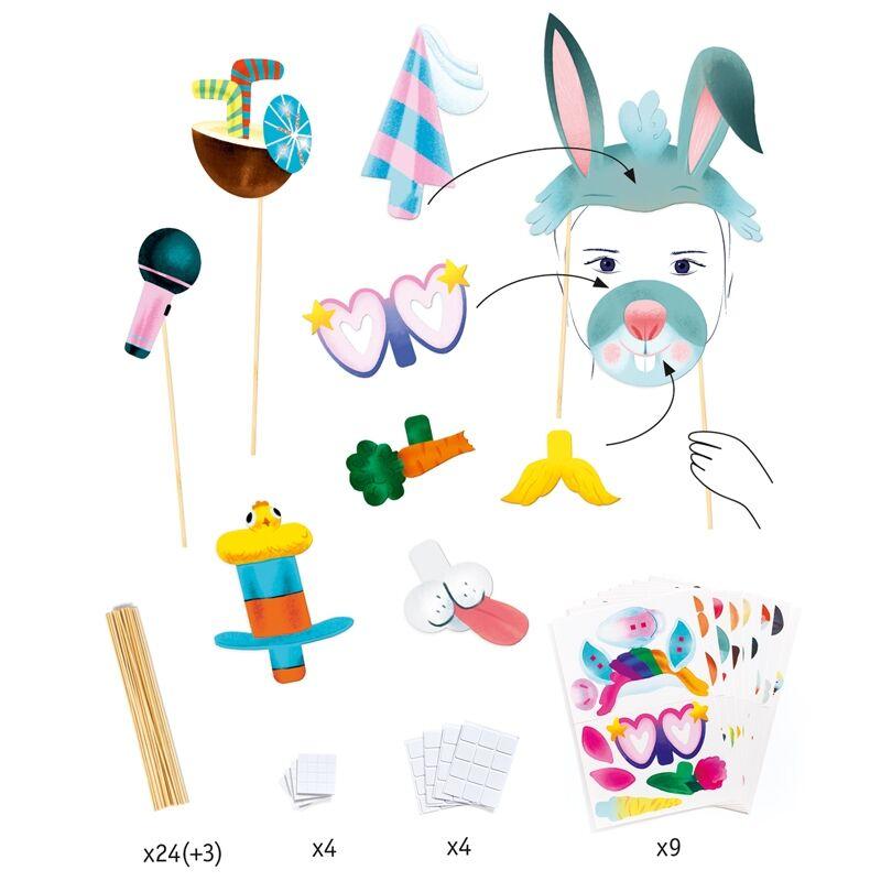 Animal party - Állati parti - Djeco kreatív készlet 4-8 éves korig