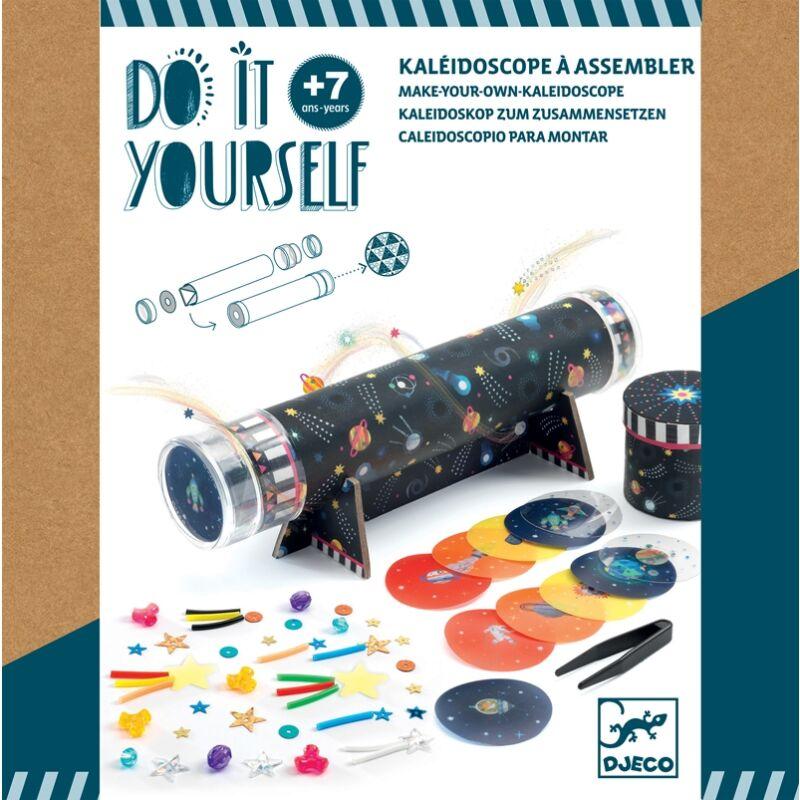 Space immersion - Kaleidoszkóp - Djeco kreatív készlet 7 éves kortól