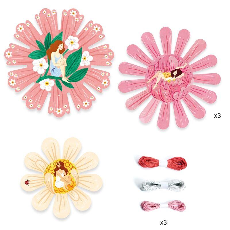 Bloom - Virágok - Djeco kreatív készlet 6 éves kortól