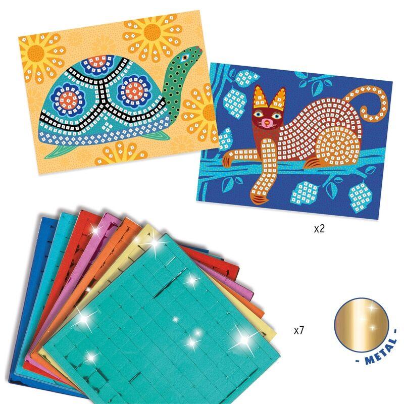 Oaxacan -Mozaikkép készítő -  Djeco kreatív készlet 5 éves kortól