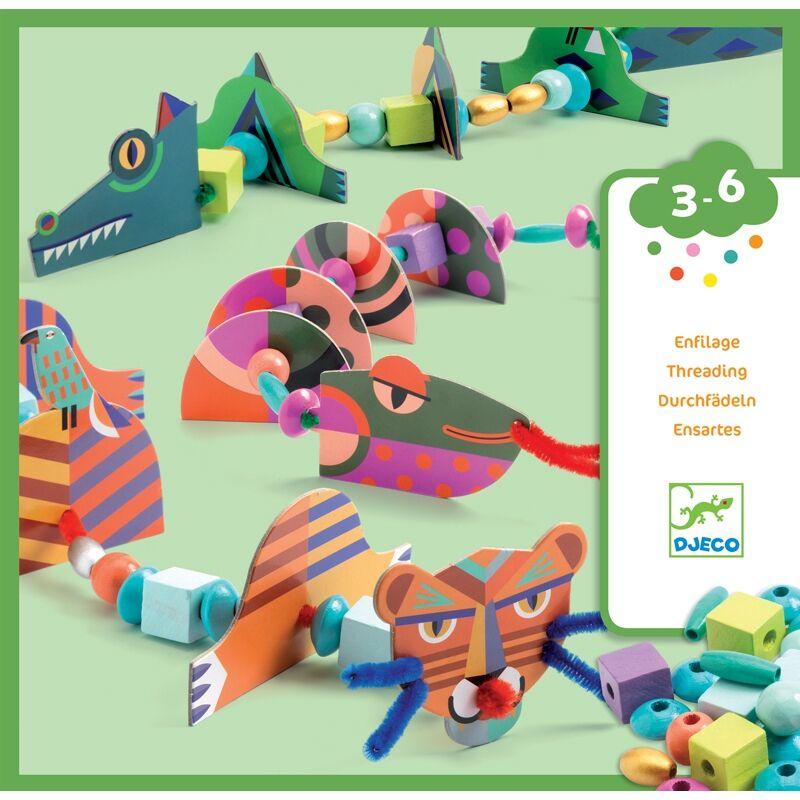 My animals- Az én állataim - Djeco kreatív készlet 3-6 éves korig