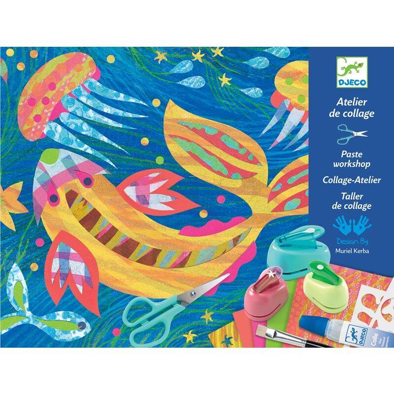 Dekorálj papírral - Djeco kreatív készlet 5 éves kortól