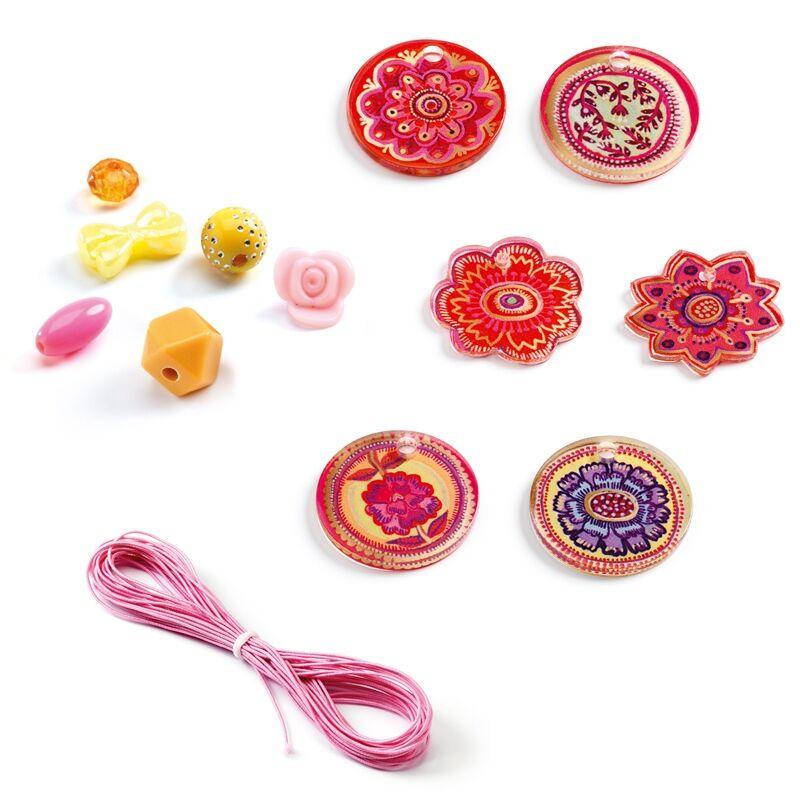 Virágok - Flower - Djeco kreatív készlet 6 éves kortól