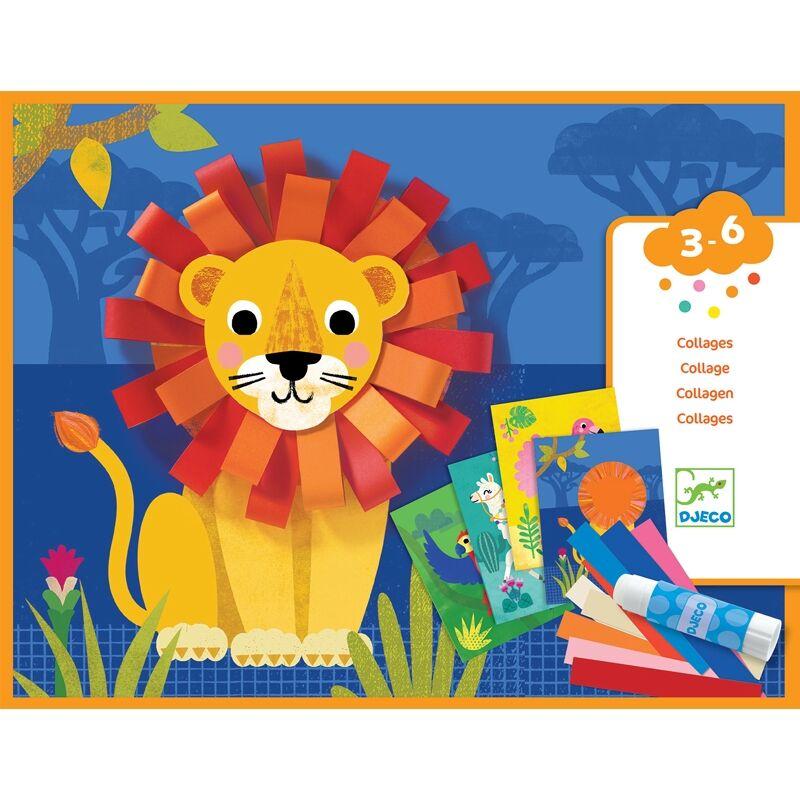 With small loops - Kis hurkokkal - Djeco kreatív készlet 3-6 éves korig