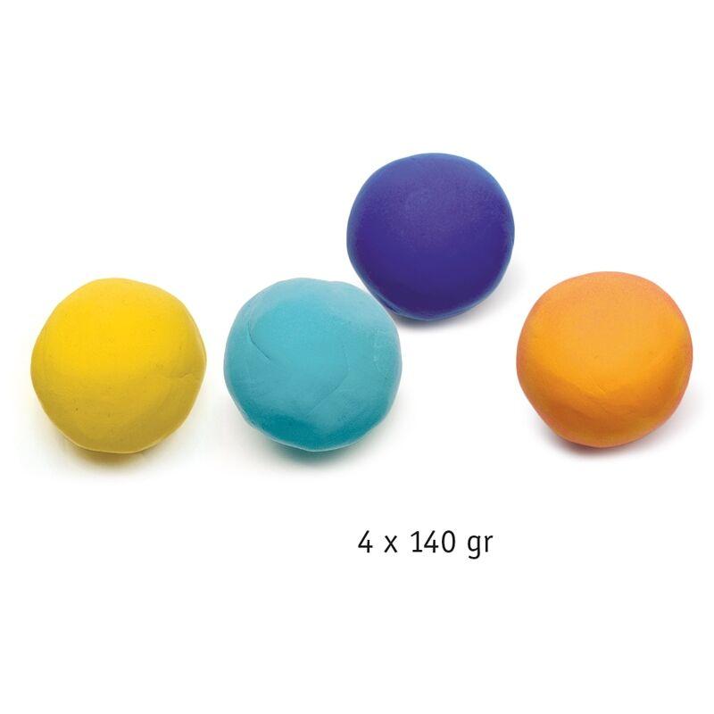 Gyurmakészlet, Vegyes színek, Djeco kreatív készlet 18 hónapos kortól
