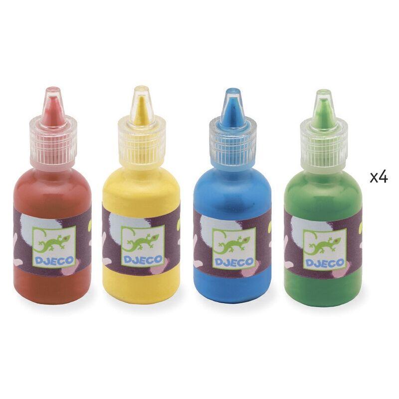 Festés üveggolyókkal - Festő készlet