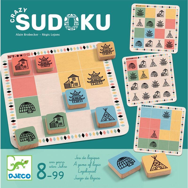 Crazy sudoku - djeco taktikai társasjáték