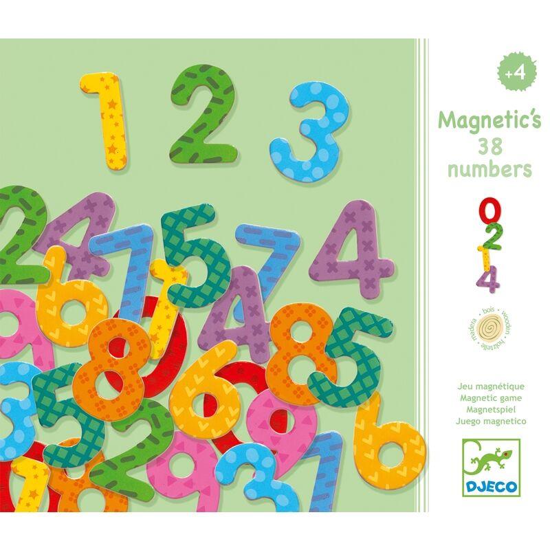 Mágneses számkészlet, Djeco számolás