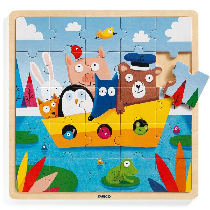 Mackó kapitány - Djeco puzzle 3-6 éves korig