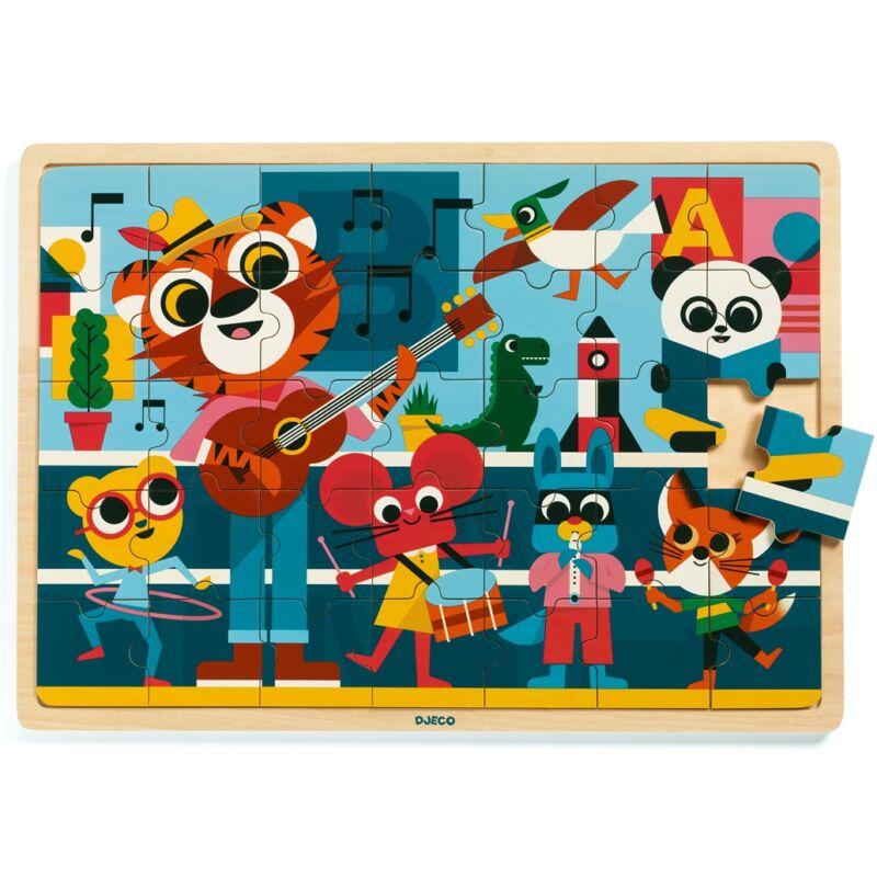 Koncert - Djeco puzzle 3-6 éves korig
