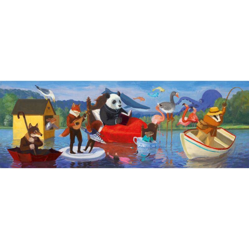 Summer Lake - Nyár a tónál - Djeco kirakó 7 éves kortól