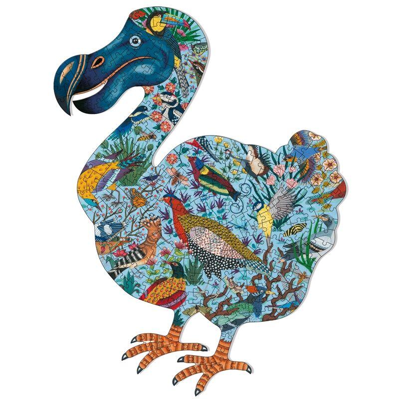 Művész puzzle - Dodo madár, 350 db-os - Djeco puzzle 7 éves kortól