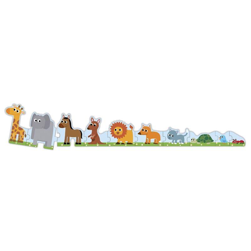 Kicsi és nagy - Djeco puzzle 3 éves kortól