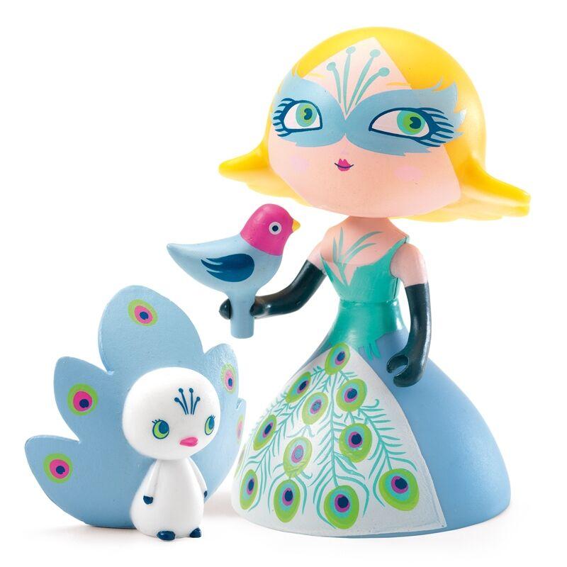 Hercegnő - Klotild hercegnő pávával - Djeco szerepjáték 4 éves kortól