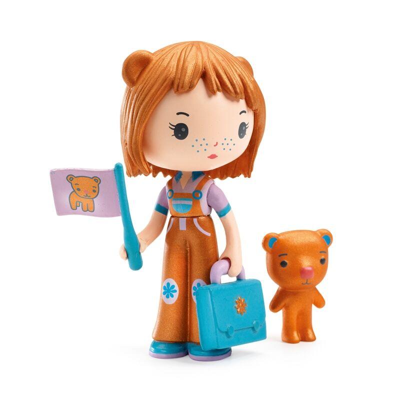 Álomvilág figurák - Annuska és a medve, Djeco szerepjáték 4-9 éves korig