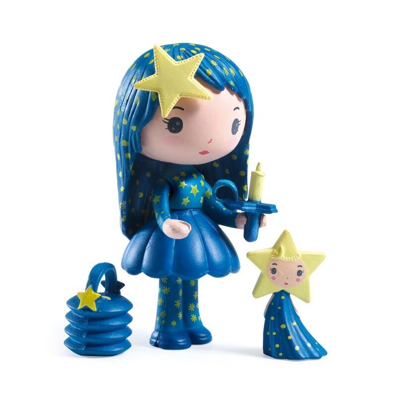Álomvilág figurák - Lujzi és Csillagfény, Djeco szerepjáték 4-9 éves korig