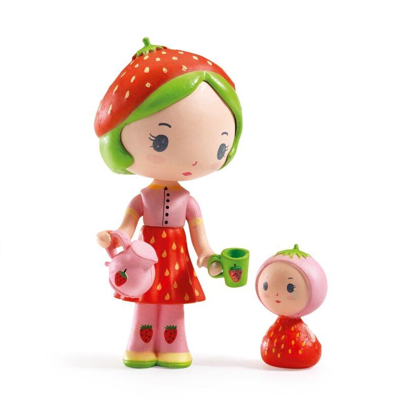 Álomvilág figurák - Eperke és Szamóca, Djeco szerepjáték 4-9 éves korig