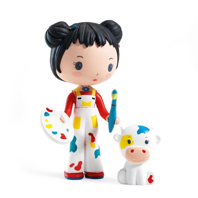 Álomvilág figura - Barbara és Gizdi, Djeco szerepjáték 4-9 éves korig