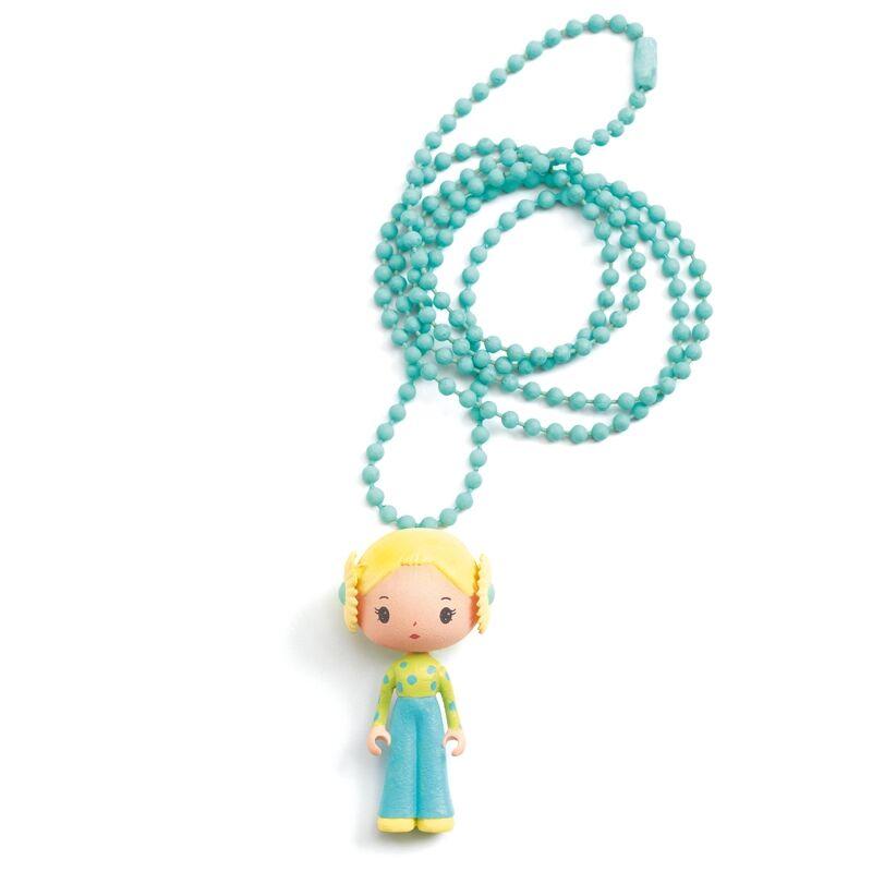 Álomvilág figurák - Flóra nyaklánc - Djeco ékszer 4 éves kortól