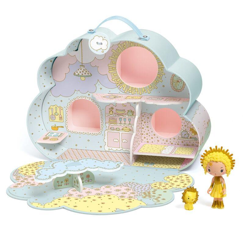 Álomvilág babaház - Napocska és Mia - Sunny & Mia house, Djeco babaház 4 éves kortól
