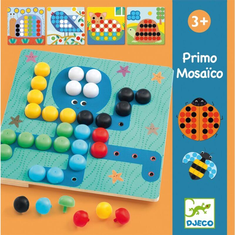 Pötyi mozaik - Primo Mosaico - Djeco kirakó 3 éves kortól