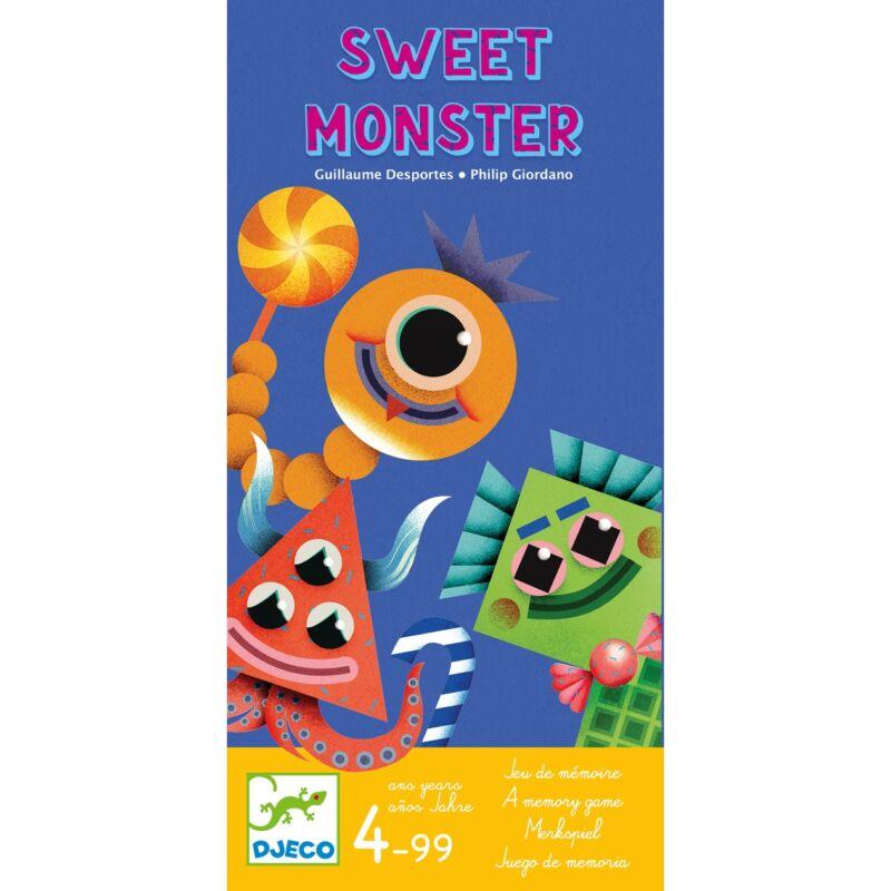 Társasjáték - Édes kis szörnyek, Djeco memóriajáték 4 éves kortól
