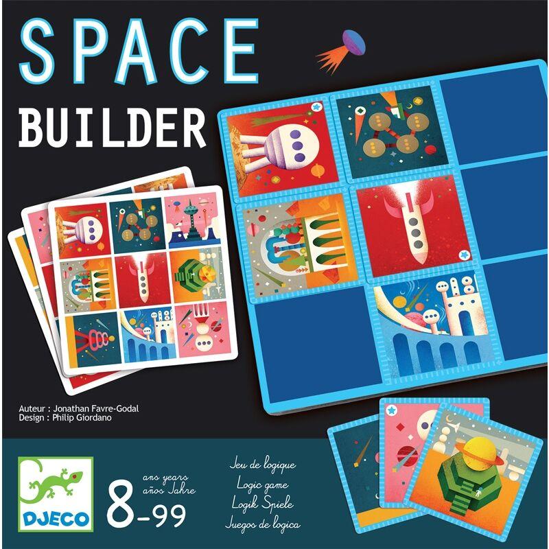 Társasjáték - Építkezés az űrben, Djeco társasjáték 8 éves kortól