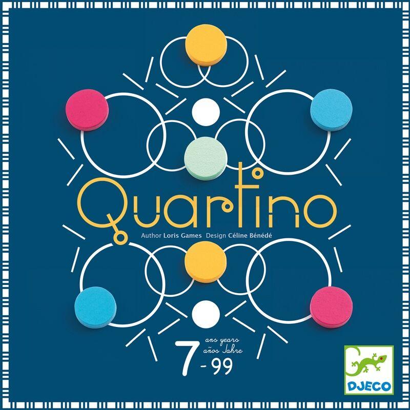Társasjáték - Quartino - Djeco társasjáték 7 éves kortól