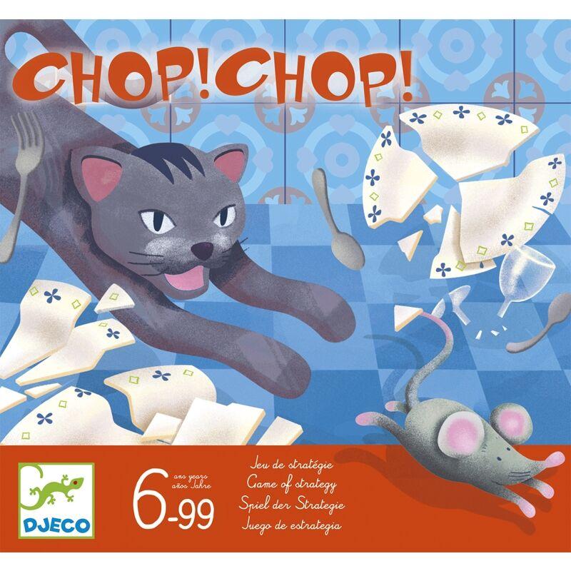 Macska-egér társasjáték, Djeco taktikai társasjáték 6 éves kortól , 3D