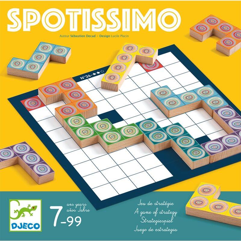 Spotissimo logikai társasjáték, Djeco társasjáték 7 éves kortól