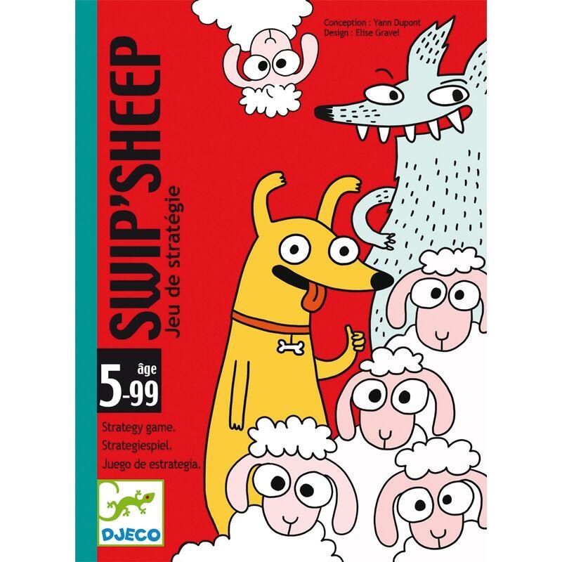SweepSheep Djeco, stratégiai kártyajáték