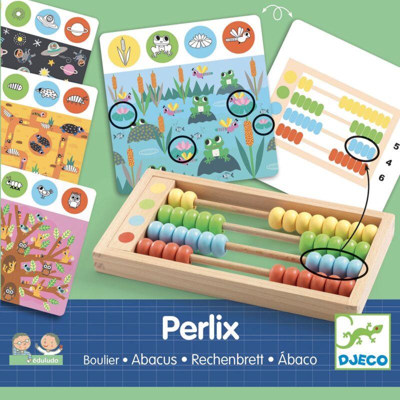 Fejlesztő játék - Abakusz - Perlix - Djeco fejlesztőjáték 4-8 éves korig