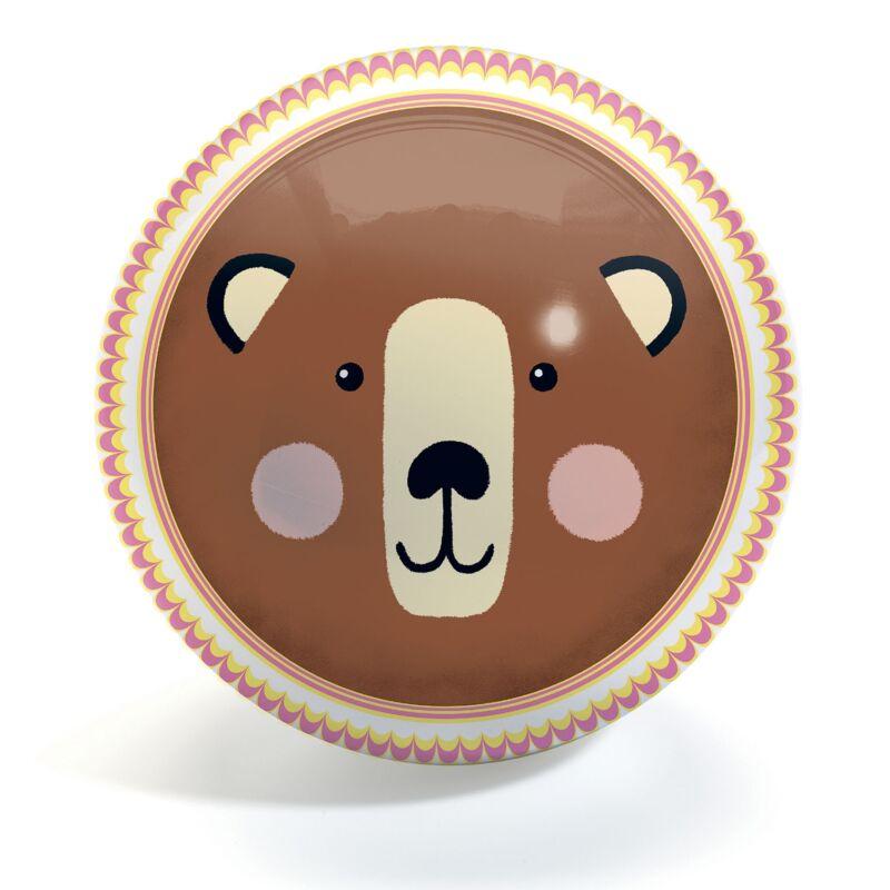 Gumilabda - Medve és róka -Djeco játék 2 éves kortól