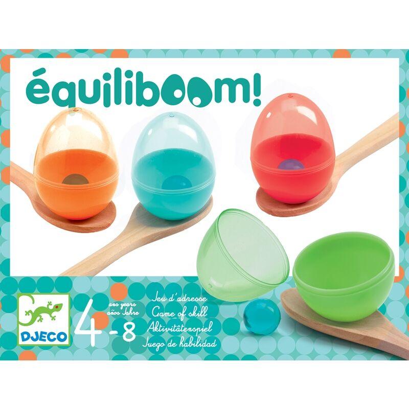 Tojásfutam játék - Equiliboom - Djeco fejlesztő játék 4-8 éves korig