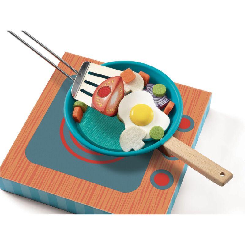 Sütés - főzés - Cook & Scratch - Djeco szerepjáték 3-6 éves korig