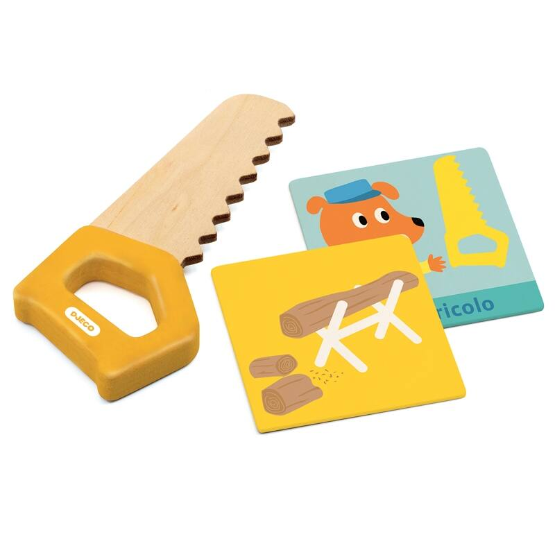 Játék szerszám - Szerszámos táska - Djeco szerepjáték 3-6 éves korig