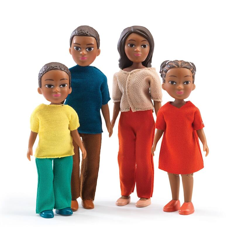 A család - The family of Milo & Lila, Djeco szerepjáték 4-12 éves korig