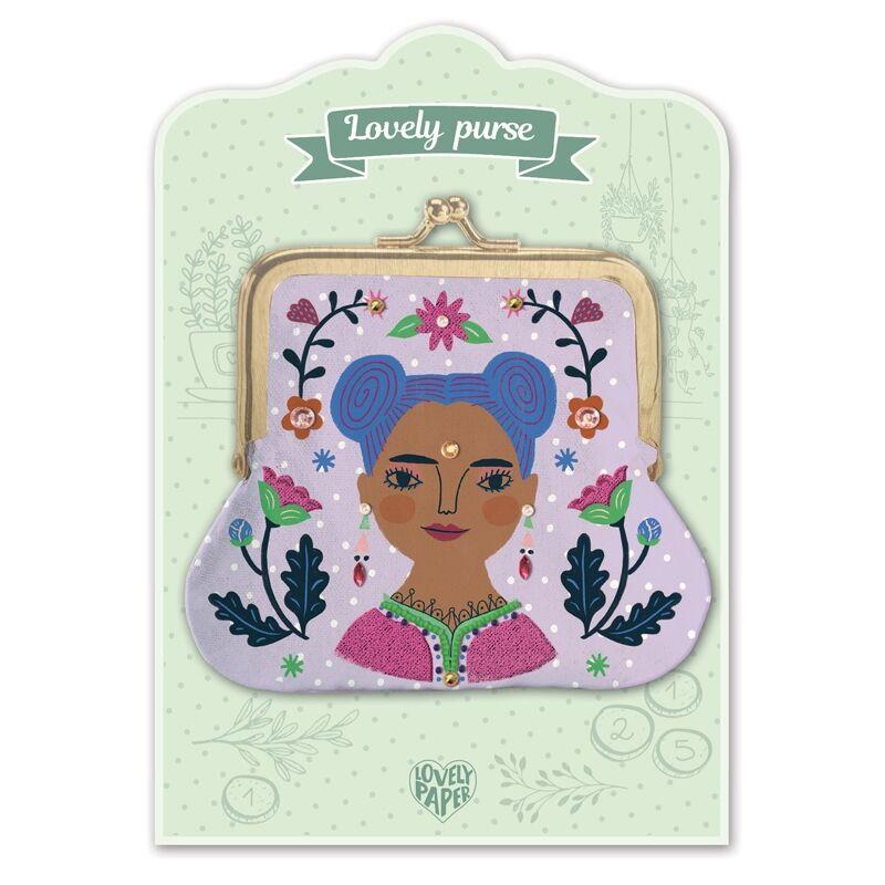 Pénztárca - Kali - Lovely purse - Djeco pénztárca 4 éves kortól