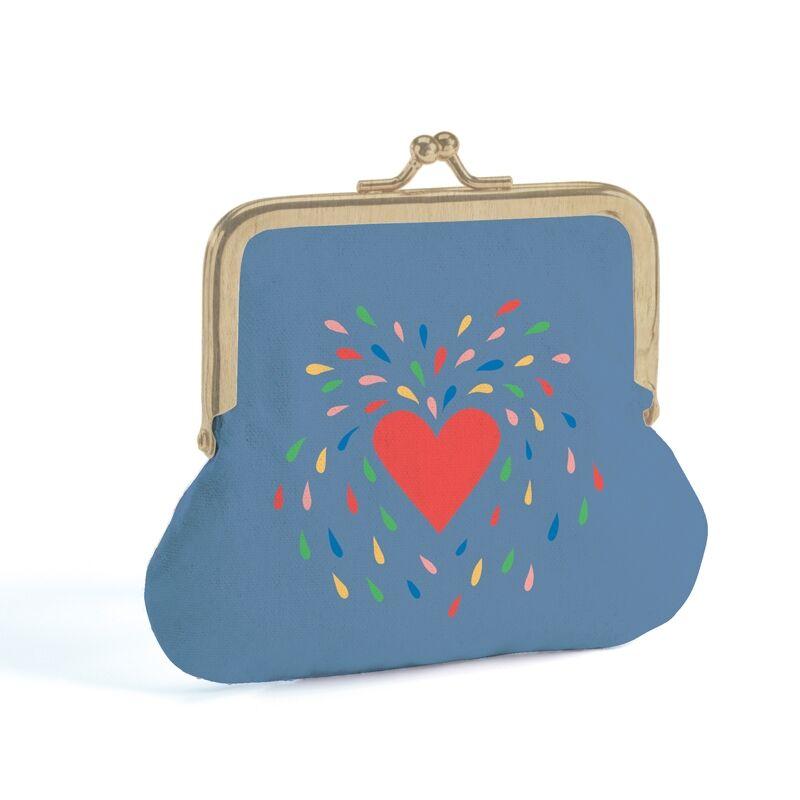 Pénztárca - Szív - Heart - Djeco pénztárca 4 éves kortól