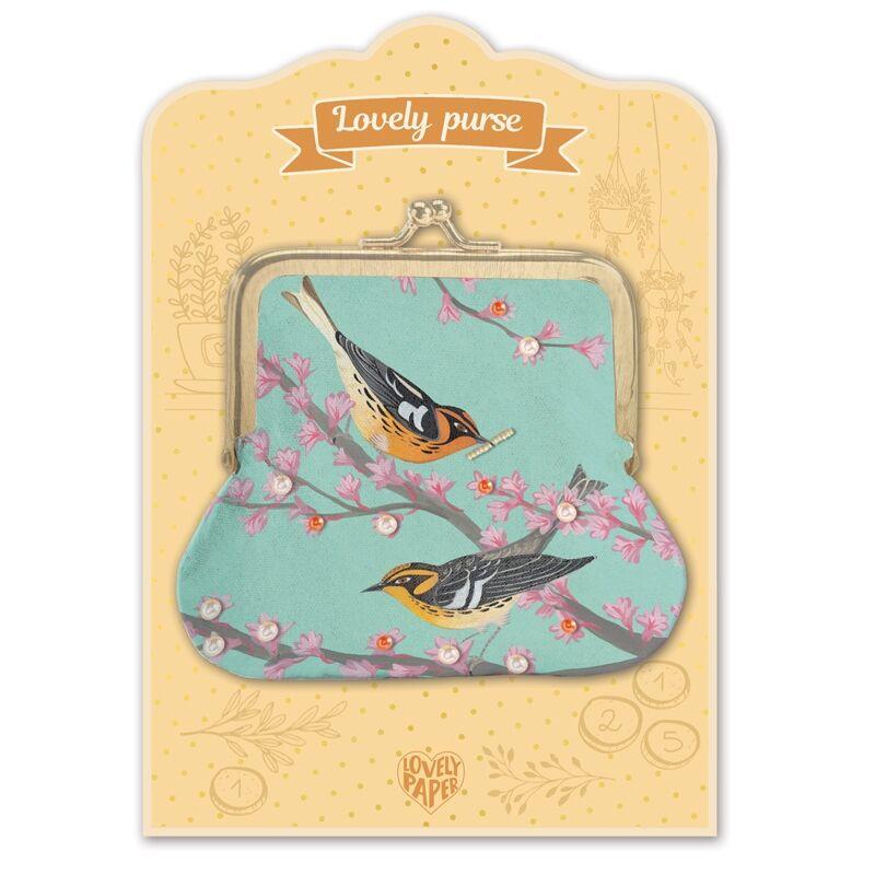 Pénztárca - Madárkák - Birds - Djeco pénztárca 4 éves kortól