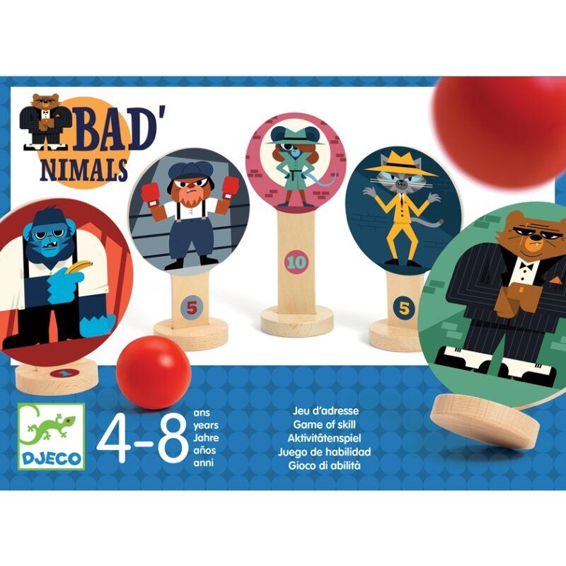 Célzó játék - Jó-rossz golyójáték - Djeco társasjáték 4-8 éves korig