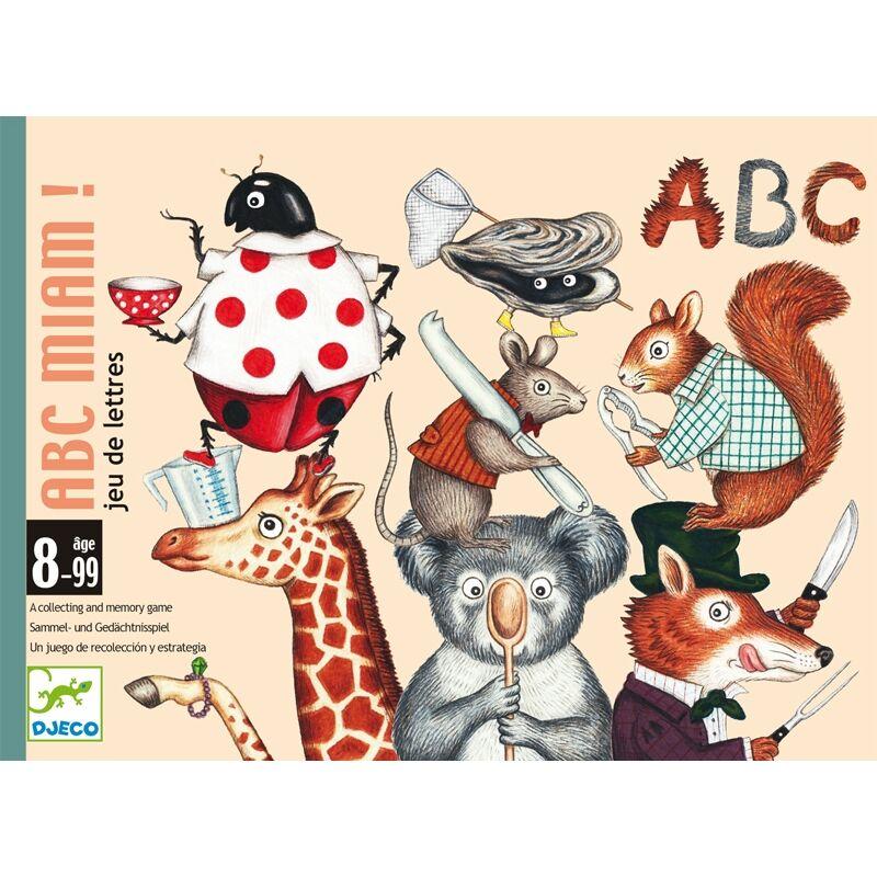 Kártyajáték - Betűfaló - Djeco kártyajáték 8-99 éves korig