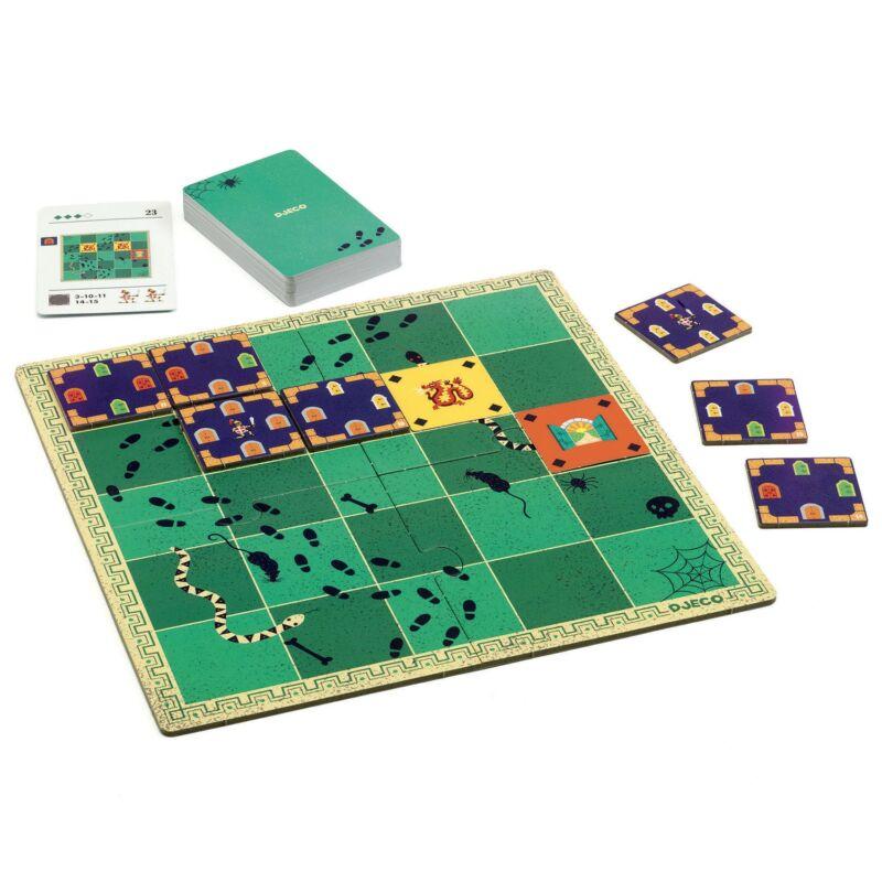 Rabulejtő - Dungeon logic - Djeco logikai játék 8 éves kortól