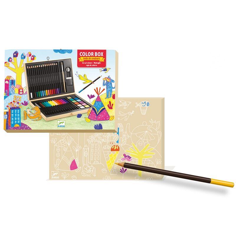 Kreatív készlet - Festő és rajz készlet - Djeco kreatív készlet 5-99 éves korig